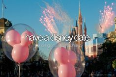 I think it'd be great to go on a vacation date to Disneyland. Especially since Tammy and Nicole are coming over next summer and were going to Disney land .... Cb could come with us <3
