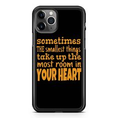 Winnie The Pooh Sometimes The Smallest Things  iPhone 11 / 11 Pro / 11 Pro Max Case