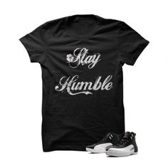 Stay Humble Taxi12s Black T Shirt. Stay Humble Taxi12s Black T Shirt