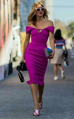 como usar ultra volet a cor de 2018 vestido violeta