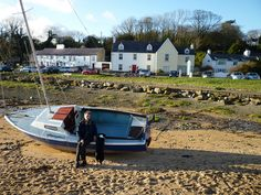 Red Wharf Bay Anglesey- The Ship Inn has some of the best food you can find!