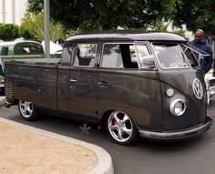Emmy DE * This VW Bus Picup was heavily modified with Porsche motor, wheels and Carrera brakes...