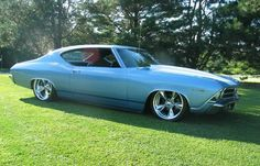1969 Chevelle... This was my Dad's first car Same color and everything