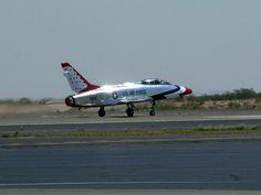 Thunderbirds F-100 Super Saber