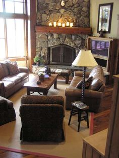 20+ Living Room with Fireplace That will Warm You All Winter | TVs