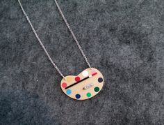 FRIDA'S Artist Palette Necklace