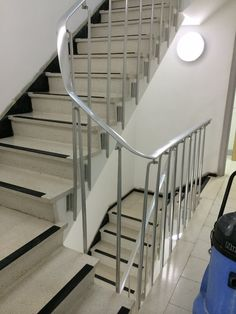Terrazzo Office Block Stair Cleaning Polishing Brighton East Sussex