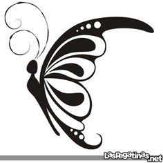 Vinilo decorativo Mariposa 15