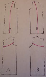 COME SEW LUTTERLOH WITH ME: More Manipulating of Lutterloh Patterns