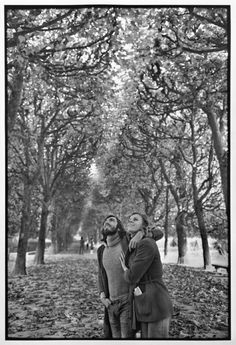 "Henri Cartier-Bresson // FRANCE. Paris. 1973. 5th arrondissement. The ""Jardin des Plantes""."
