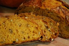 First off, many thanks to Karin (hanseata) for posting her bake of Dan Lepard's pumpkin whey bread. What a great idea, and not just for autumn bakes. This is a sourdough, whey-less take on that lovely bread. I love what the pumpkin does for this bread! The colors are striking, the crumb is exceptionally moist, and the flavor is wonderfully complex. The amount of pumpkin