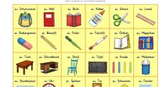 DaZ, Bingo, Spiel zum Deutschlernen, Grundschule, reif für die ferien, kostenloses unterrichtsmaterial, Deutsch als Zweitsprache, Seiteneinsteiger, Lernspiel