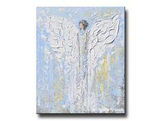 GICLEE PRINT Art Abstract Angel Painting von ChristineKrainock