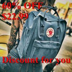 Fjallraven Kanken Backpack #Kanken, #Fjallraven, #Backpack Kanken Backpack, Swagg, Dream Wedding, My Style, Fitness, Kids, How To Wear, Clothes, Fashion
