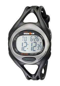 Timex Ironman Triathlon Sleek 5/1 (Black) Sport Watches - Timex, Ironman Triathlon Sleek 5/1, T54281, Accessories Watches Men's Performance Polyurethane Strap, Sport, Watches, Jewelry, Gift - Outfit Ideas And Street Style 2017