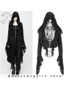 Gothic NEO Victorian Steampunk Camicia Top strega Cobweb RAGNO Punk Rave M L XL XXL