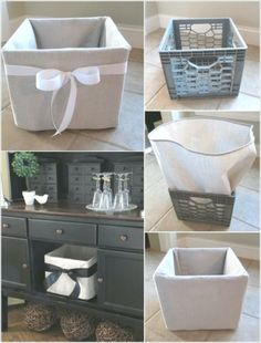 Milk crates are great when it comes to home decor and organization. - machen - Milk crates are great when it comes to home decor and organization. Let& say your living room - Diy Home Decor Bedroom, Diy Home Decor On A Budget, Home Decor Kitchen, Decorating Your Home, Plastik Box, Milk Crates, Living Room On A Budget, Decoration, Decor Styles