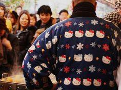 Hello Kitty Ugly Christmas Sweater