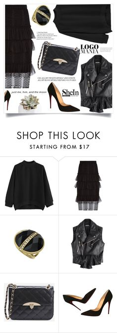"""""""Reflections"""" by violet-peach ❤ liked on Polyvore featuring Burberry, Dsquared2 and Christian Louboutin"""