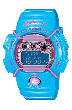 Casio 'Baby-G - Tropical Paradise' Digital Watch by nordstrom