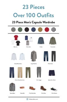 Does the man in your life sorely need a capsule wardrobe but you can't get him to do it? Show him this post. Capsule Wardrobe Casual, Mens Wardrobe Essentials, Travel Wardrobe, Men's Wardrobe, Mens Summer Wardrobe, Winter Wardrobe, Travel Essentials, Minimalist Wardrobe Men, Minimal Wardrobe