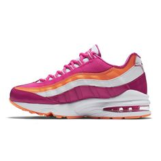 hot sale online bec01 c3b86 NIKE AIR MAX 95 GS Womans Running Shoes 310830-603 Pink White Orange