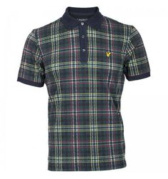 This mens Lyle and Scott Scotts Tartan Polo Shirt provides a classic twist to the Lyle and Scott Autumn / Winter 2013 collection. http://www.infinities.co.uk/clothing-c56/polo-shirts-c5/lyle-and-scott-scotts-tartan-polo-shirt-navy-p98815