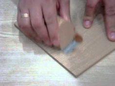 Cómo preparar masilla para tapar grietas en la madera.