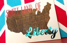 Fourth of July Ideas| DIY Fourth of July Sign Decoration Tutorial