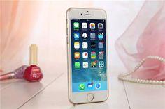 Schicke Gold-Faktor Handyhülle aus Kunststoff für iPhone 6/6 Plus - spitzekarte.com