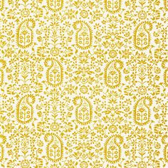 Kalika Paisley Print Fabric, Citron - I love this pattern by Schumacher. The citron color is the best. It also comes at a slightly better pr...