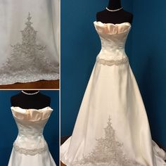 Winnie Couture Champagne Wedding Dress