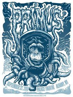 Awesome Concert Posters   Awesome Primus poster   Concert Posters