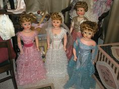 1950's Grocery Store Dolls..... I had Betty the Beautiful Bride Doll, and mine came with the pink bridesmaid outfit also.