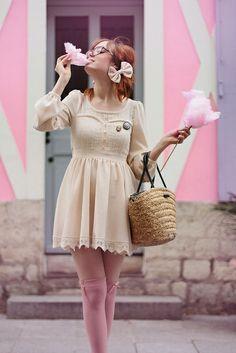 @Louise Ebel  Babydoll + cottoncandy