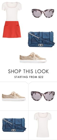"""Travel"" by phamthuquynh on Polyvore featuring Tory Burch, Topshop, Rebecca Minkoff and Courrèges"