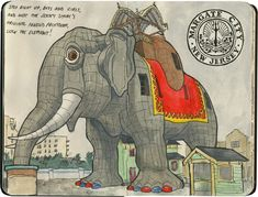 I had forgotten about Lucy! Chandler O'Leary: Lucy the Elephant—the mammoth of Margate.