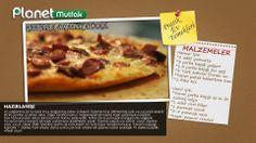 """""""Pratik Ev Yemekleri"""" programında Sevim Malkadı'nın seçtiği ve programında sizler için yaptığı """"Tavada Pratik Pizza"""" tarifi."""