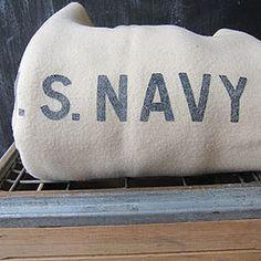 U.S. Navy Wool Blanket -