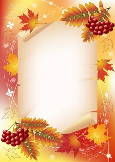 "Photo from album ""Autumn Backgrounds"" on – About Graphic Design Borders For Paper, Borders And Frames, Backgrounds Free, Wallpaper Backgrounds, Birthday Frames, Phone Screen Wallpaper, Frame Background, Frame Clipart, Writing Paper"