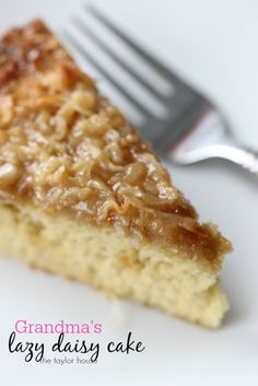 Lazy Daisy Cake like Grandma Used to Make!