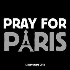 Pray against terrorism