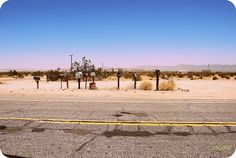 Nevada Road Lost Mailboxes by mgverspecht, via Flickr