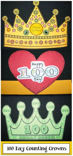 Classroom Freebies: 100 Day Counting Crowns