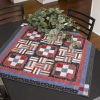 Flag It Quilt Make this simple quilt for a table or wall. Easy strip piecing makes it a breeze to construct.  Free pattern