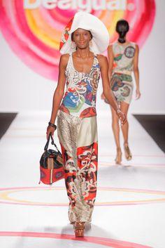 Desigual debut at New York Fashion Week 2014.