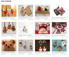my christmas ornaments were featured in this Etsy treasury by JackandRoseCrafts.. 04.11.2013.