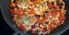 One-Dish rosemary Chicken & White Beans Recipe - serve with rice