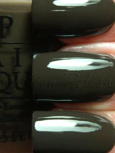 "OPI ""Get In The Expresso Lane"" (Fall/Winter 2011 Touring America)"