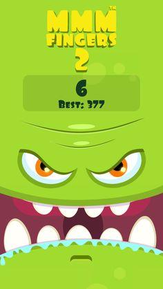 I scored 6 points in Mmm Fingers 2! Can you beat my score? #mmmfingers2